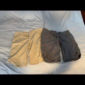 Set of 2 hiking shorts